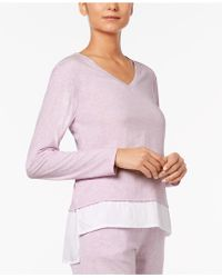 Alfani - Layered-look Pajama Top - Lyst