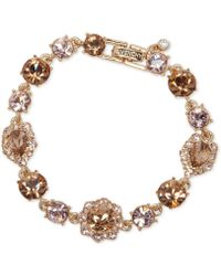 Givenchy - Stone And Crystal Link Bracelet - Lyst