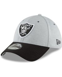 on sale 2d456 e74c8 KTZ Kids  Oakland Raiders Draft On-stage 59fifty Cap in Black for Men - Lyst