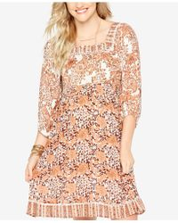 Wendy Bellissimo - Maternity Printed Dress - Lyst