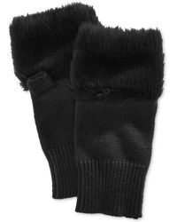 Steve Madden - Faux Fur Hand Warmer - Lyst