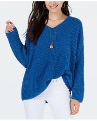 Style & Co. - Petite Chenille V-neck Jumper, Created For Macy's - Lyst