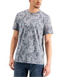 Alfani - Dash Print T-shirt, Created For Macy's - Lyst