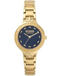 Versus - Gold Bracelet Watch 16mm - Lyst