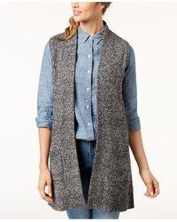 Karen Scott Jumper Vest, Created For Macy's - Blue