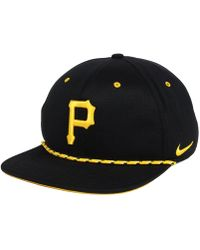 huge discount 7101b a2d98 Nike - Pittsburgh Pirates String Bill Snapback Cap - Lyst