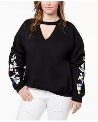 Hybrid | Plus Size Daisy & Donald Duck Sweatshirt | Lyst