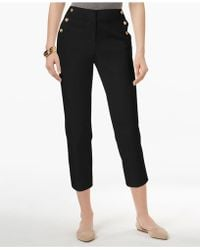 Charter Club - Sailor-button Capri Trousers, Created For Macy's - Lyst