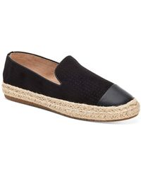 Charter Club Jonii Espadrille Flats, Created For Macy's - Black