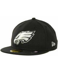 ccf620b769b Lyst - Ktz Philadelphia Eagles Big City 9fifty Snapback Cap in Black ...