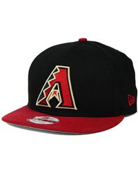 KTZ - Arizona Diamondbacks 2-tone Link 9fifty Snapback Cap - Lyst