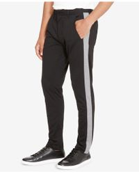 Kenneth Cole Reaction - Men's Madison Slim-straight Fit Stripe Chinos - Lyst