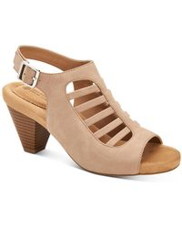 Giani Bernini Caged Caileigh Dress Sandals, Created For Macy's - Brown
