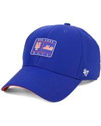 ec12bc390d7 Michael Kors · 47 Brand - New York Mets Silicone Patch Mvp Adjustable Cap -  Lyst
