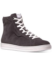 Michael Kors Lace-up Keating High Top Sneakers - Multicolour