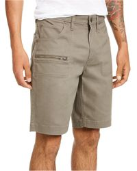 INC International Concepts Ollie Zipper Shorts, Created For Macy's - Multicolor