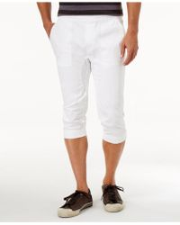 American Rag - Men's Cropped Joggers - Lyst