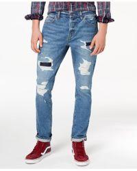American Rag - Men's Blue Skies Ripped Jeans - Lyst