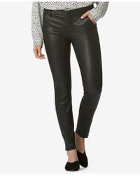Avec Les Filles - Skinny Leather Trousers - Lyst
