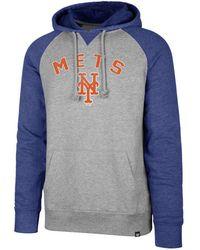 47 Brand - New York Mets Match Hoodie - Lyst