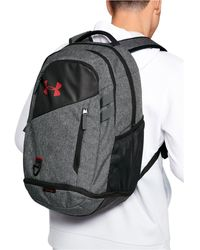 Under Armour Hustle Storm Backpack - Gray