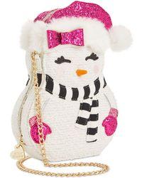 Betsey Johnson Snow Girl Crossbody - Multicolour