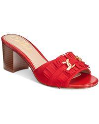 Callisto - Taaj Block-heel Dress Sandals - Lyst