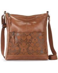 The Sak Lucia Leather Crossbody - Brown