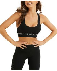 Guess Active Sports Bra - Black