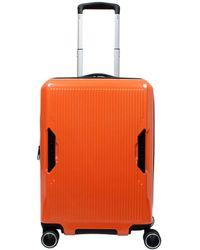 "Revo Ignite 20"" Carry-on Luggage - Orange"