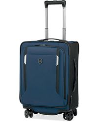 "Victorinox Werks Traveller 5.0 20"" Carry-on Dual Caster Spinner Suitcase - Black"