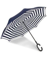 Shedrain Unbelievabrella Reverse Umbrella - Blue