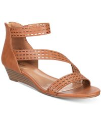 Style & Co. - Giordi Wedge Sandals, Created For Macy's - Lyst