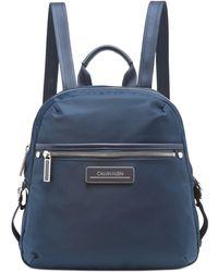 Calvin Klein Sussex Nylon Backpack - Blue