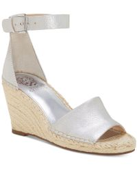Vince Camuto - Leera Espadrille Wedge Sandals - Lyst