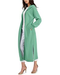 INC International Concepts Duster-length Hoodie, Created For Macy's - Green