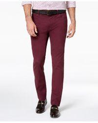 Michael Kors - Parker Slim-fit Stretch Pants - Lyst