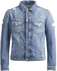 Jack & Jones - Jeans Ripped Jacket - Lyst