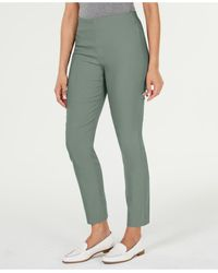 Charter Club Chelsea Tummy Control Skinny-leg Ankle Pants, Created For Macy's - Green