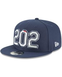 huge selection of cc3e0 ed3fa KTZ - Washington Wizards Area Code 9fifty Snapback Cap - Lyst