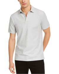 DKNY Stackable Regular-fit Polo Shirt - Gray