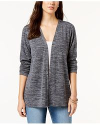 Style & Co. - Petite Open-front Cardigan, Created For Macy's - Lyst