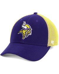 dee2029d Minnesota Vikings Comfort Contender Flex Stretch Fitted Cap