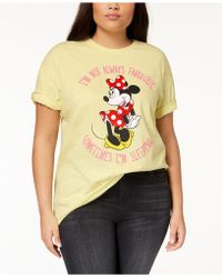 Disney - Plus Size Minnie Mouse T-shirt - Lyst