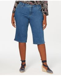 Charter Club Plus Size Skimmer Jeans, Created For Macy's - Blue
