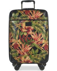 "Patricia Nash - Livorno 24"" Heritage Signature Trolley Rolling Luggage - Lyst"