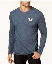True Religion - Men's Logo Sweater - Lyst