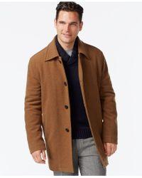 Cole Haan - Wool-blend Coat - Lyst