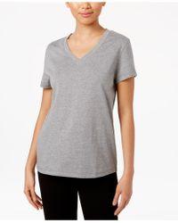 Hue Solid Top - Gray