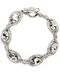 Givenchy - Bracelet, Silver-tone Swarovski Element Bridal Bracelet - Lyst